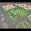 08 34 26 158 exterior office building scene 049 3 4