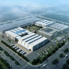 Factory building 001 3D Model