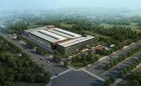 Factory building 002 3D Model