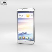 Huawei Ascend G730 White 3D Model