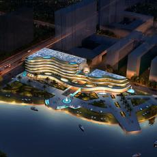 Hotel 004 3D Model