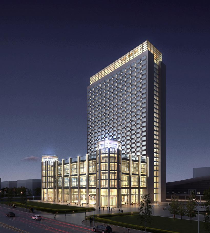Hotel 008 3D Model