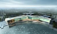 Museum Building 001 3D Model