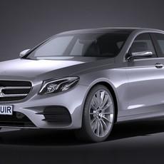 Mercedes-Benz E-Class AMG 2017 3D Model