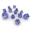 05 55 32 841 dice blue glass 03 4