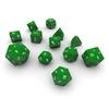 06 06 01 934 dice green 03 4