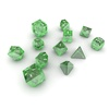 06 10 38 31 dice green glass 02 4