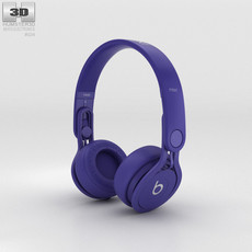 Beats Mixr High-Performance Professional Indigo 3D Model