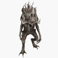 Tree Monster Animated 3D Model