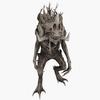 Tree Monster Animated 3D Model
