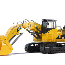 Front Shovel CAT 385C FS 3D Model