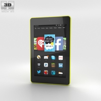 Amazon Fire HD 6 Citron 3D Model