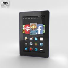 Amazon Fire HD 7 Cobalt 3D Model