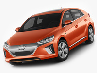 Hyundai Ioniq Electric 2017 3D Model