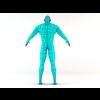 02 47 00 818 futuristic male human game character 3 4