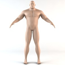 The Giant Human Character 3D Model