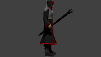 Cultist Warrior Game Character 3D Model