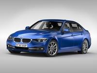 BMW 3 Series (2016) 3D Model
