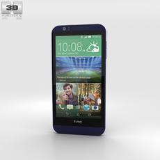 HTC Desire 510 Deep Navy Blue 3D Model