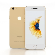 iPhone 7 Gold 3D Model