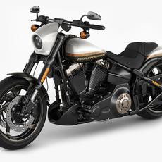 Harley-Davidson CVO Pro Street Breakout 3D Model