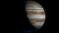Hyperrealistic 4k Jupiter 3D Model