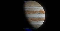 Hyperrealistic 8k Jupiter 3D Model