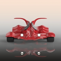 go karting car 3D Model