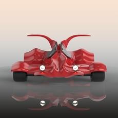 go karting car 3D Model