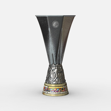 UEFA Europa League Cup Trophy 3D Model