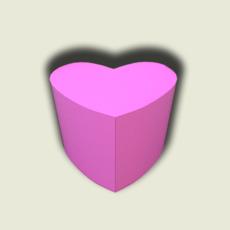Pouf heart 3D Model