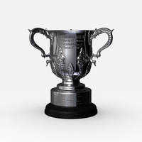 League Cup Trophy 3D Model