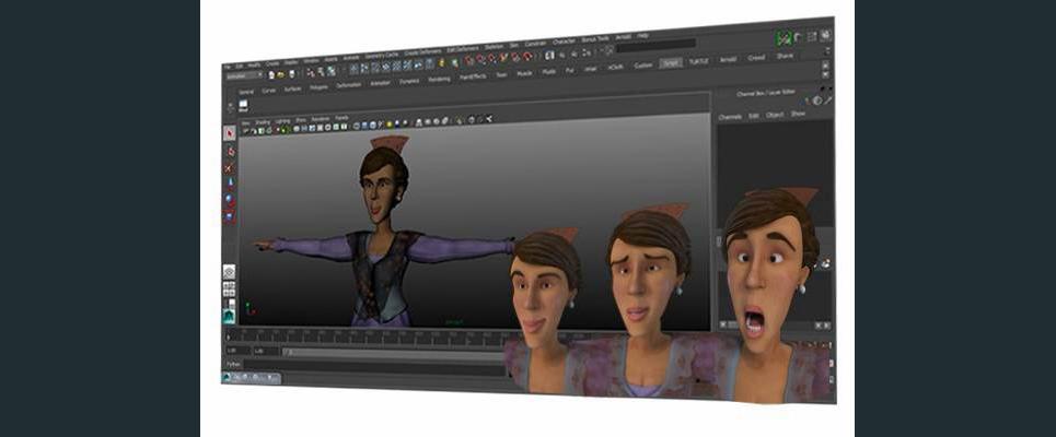 Animation facial expressions desnger studio2 show