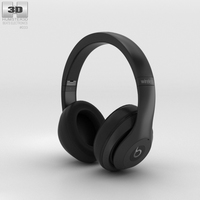 Beats by Dr. Dre Studio Wireless Over-Ear Matte Black 3D Model