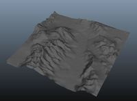 Terrain Creator 1.2.0 for Maya (maya script)