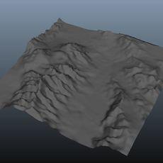 Terrain Creator for Maya 1.2.0 (maya script)