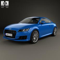 Audi TT (8S) coupe 2015 3D Model