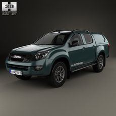 Isuzu D-Max Double Cab Huntsman 2014 3D Model