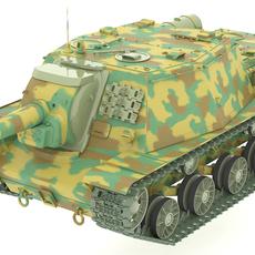 SU-152 (Samokhodnaya Ustanovka) 3D Model
