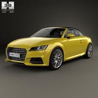 Audi TT (8S) S roadster 2015 3D Model