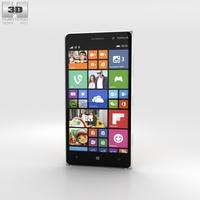 Nokia Lumia 830 Orange 3D Model