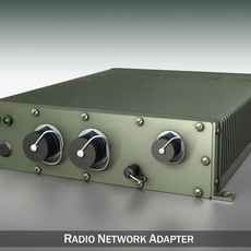 Radio network adapter 3D Model