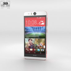 HTC Desire Eye White 3D Model