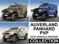 Panhard PVP - Collection 3D Model