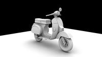 Vespa Pk model 3D Model