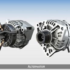 Alternator 3D Model