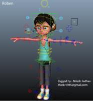 Free Roben Rig for Maya 0.1.0