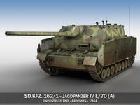 Jagdpanzer IV L/70 (A) 3D Model