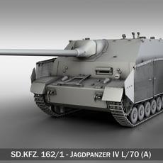 Jagdpanzer IV L/70 (A) - SD.KFZ 162/1 3D Model