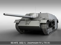 Jagdpanzer IV L/70 (V) 3D Model